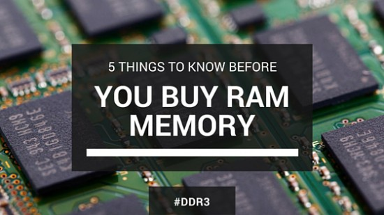 Buying Computer RAM