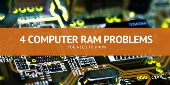 4 computer ram problems