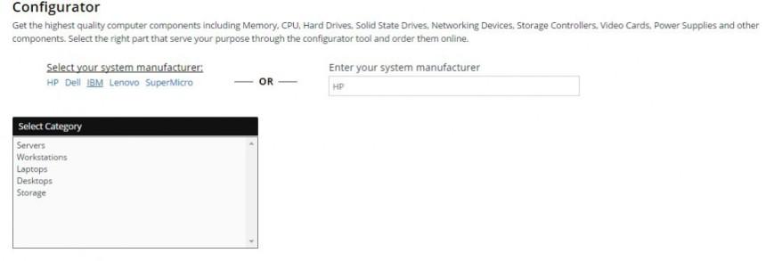1 Memory4less RAM Memory Configurator