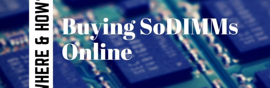 Buy SoDIMMs Online
