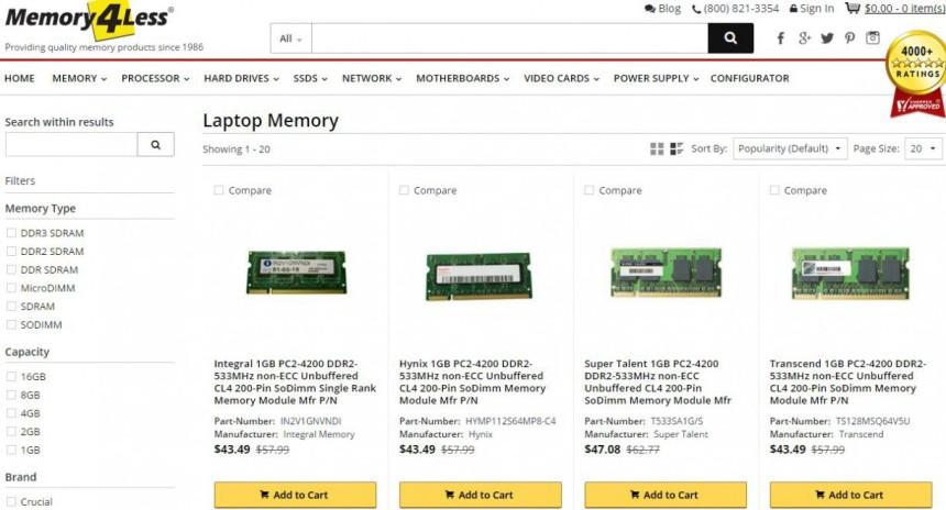 Laptop DDR3 SODIMM Memory Module