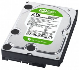 what is the difference between the western digital black green and blue hard drives