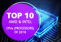 10 best AMD & Intel CPU processors