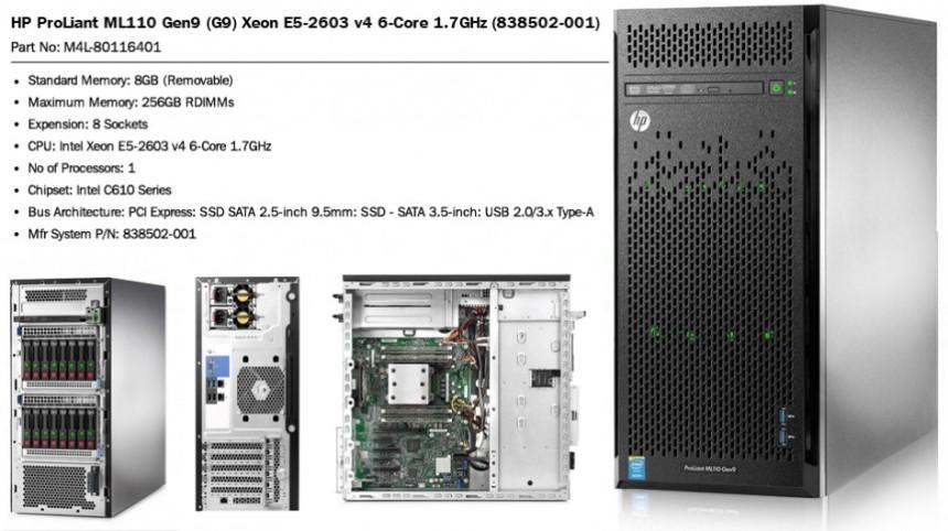HP Proliant Tower Server