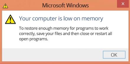 Slow RAM Memory