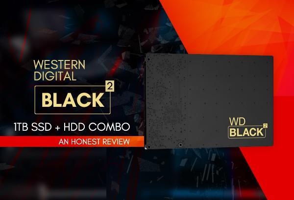 Western Digital Black2 Dual Drive WD1001X06X