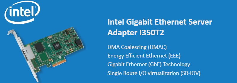I350T2 Intel Ethernet Server Adapter