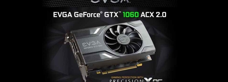 06GP46161KR EVGA GeForce GTX 1060 Graphics Card Review