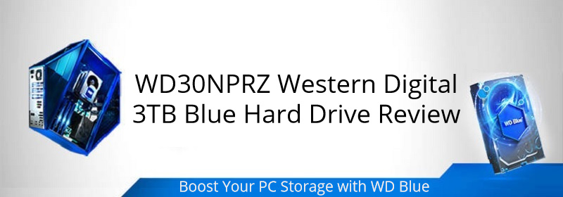 Western Digital 3TB Blue Hard Drive WD30NPRZ