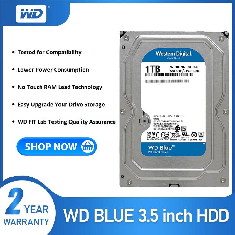 WD10EZRZ-00HTKB0 Western Digital 1TB Blue Hard Drive