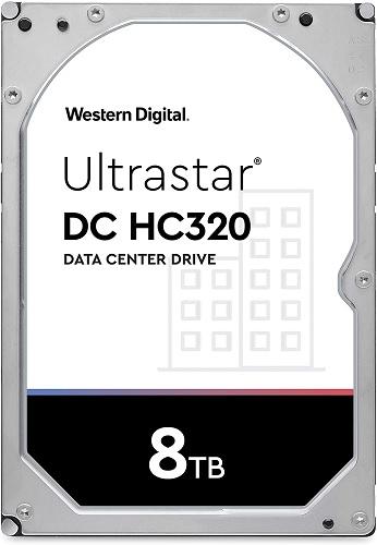 Western Digital HUS728T8TALE6L4 Ultrastar DC HC320 8TB Hard Drive