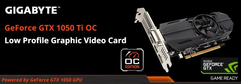 GV-N105TOC-4GL Gigabyte GeForce GTX 1050 Ti Graphic Card Review