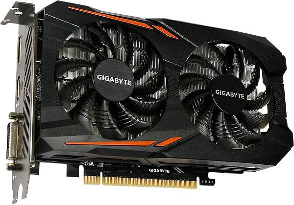 GV-N105TOC-4GD Gigabyte GeForce GTX 1050 Ti Graphics Card