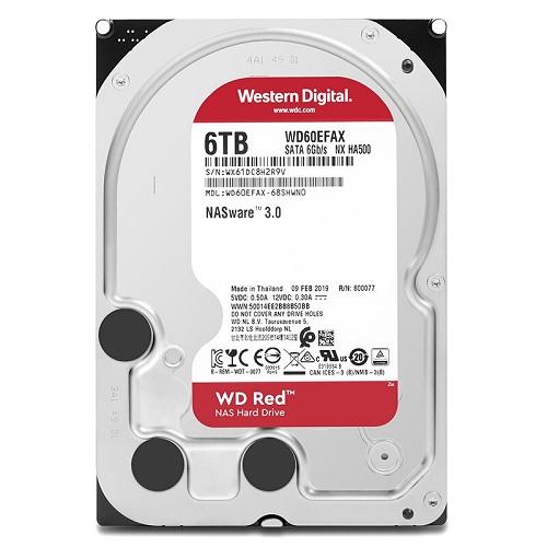 Western Digital Red WD60EFAX NAS 6TB Hard Drive