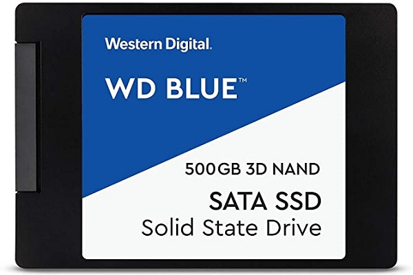 Western Digital Blue 500GB SSD WDBNCE5000PNC-WRSN