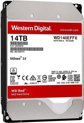 Western Digital Red WD140EFFX NAS 14TB Hard Drive