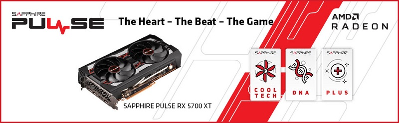 11293-01-20G Sapphire PULSE Radeon RX 5700 XT Graphics Card Review