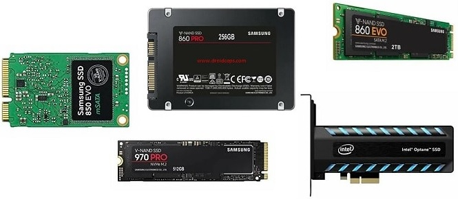 Types of Solid State Drives
