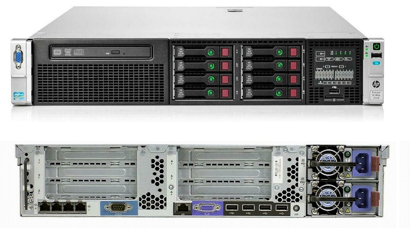 HPE ProLiant DL380p Gen8 Server 709943-001