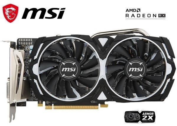 V341-077R MSI AMD Radeon RX 570 Graphics Card