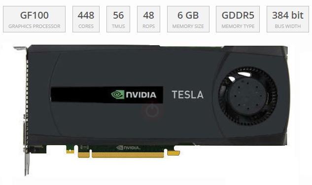 900-21030-2220-000 NVIDIA Tesla C2070 Graphics Card