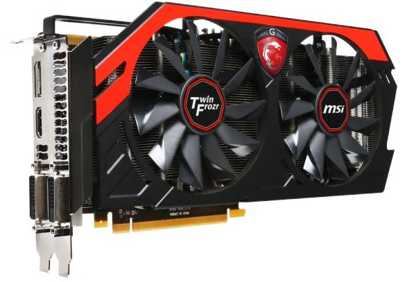 MS-V282 MSI NVIDIA GeForce GTX770 Graphics Card