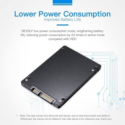 MTFDDAK1T0TBN Micron 1100 1TB TLC SATA 6Gbps Internal Solid State Drive