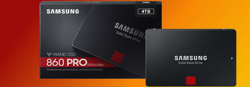 Samsung MZ-76P4T0BW 860 PRO Series 4TB SSD Review