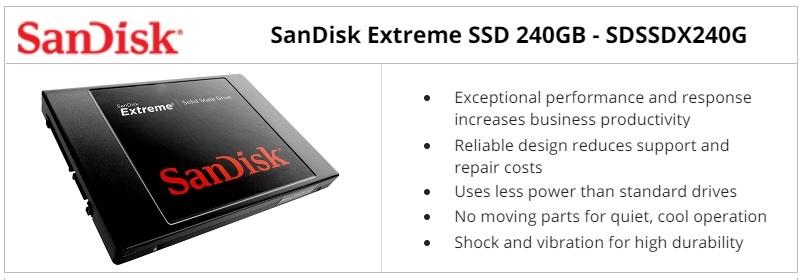 SanDisk SDSSDX240G Extreme 240GB SSD Review