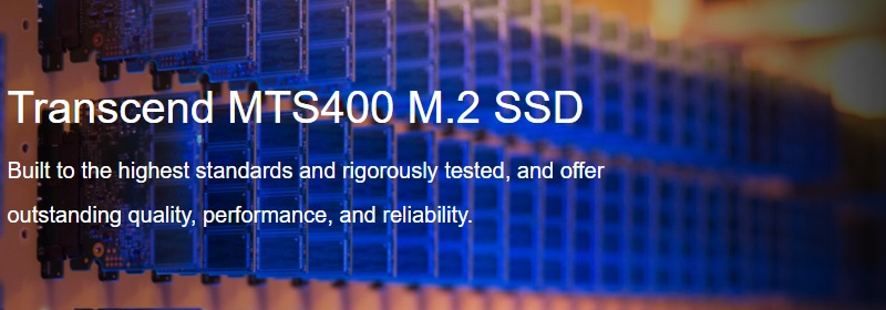 Transcend TS128GMTS400 MTS400 128GB SSD Review