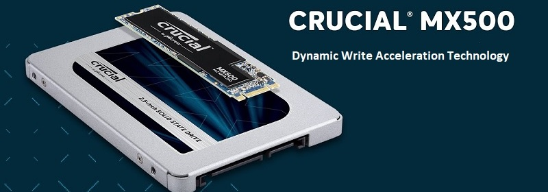 Crucial MX500 Series 1TB SSD Review
