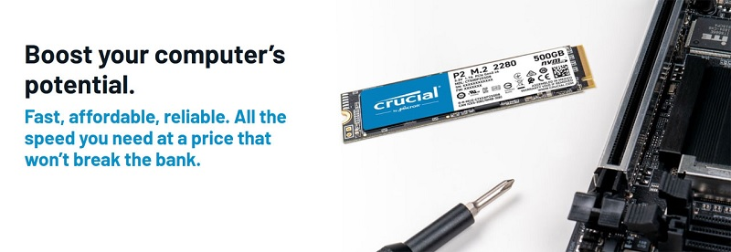 CT250P2SSD8 Crucial P2 Series 250GB NVMe M.2 2280 SSD Review