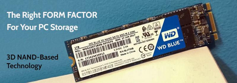 Western Digital WDS100T1B0B Blue 1TB SATA SSD Review