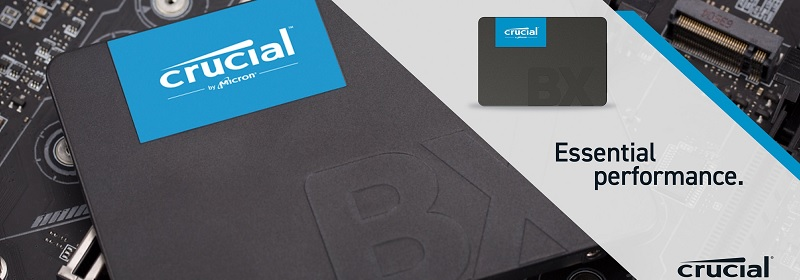 Crucial CT1000BX500SSD1 BX500 Series 1TB SSD Review