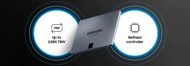 Samsung MZ-77Q1T0BAM 870 QVO 1TB SSD Review