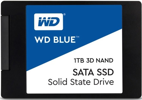 Western Digital WDS100T2B0A Blue 3D NAND 1TB TLC SATA Internal Solid State Drive
