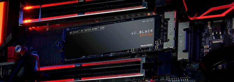 Western Digital WDS100T3X0C Black SN750 SSD Review