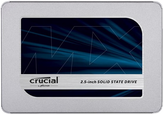 Crucial CT500MX500SSD1 MX500 Series 500GB Internal Solid State Drive