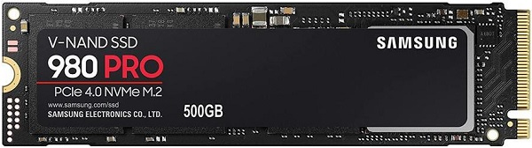 Samsung 980 PRO Series MZ-V8P500BAM 500GB NVMe Solid State Drive