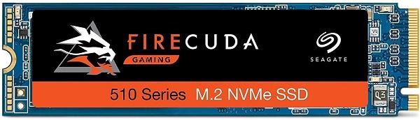 Seagate ZP2000GM30021 FireCuda 510 Series 2TB NVMe Solid State Drive