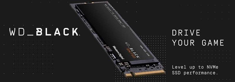 WD Black SN750 WDBRPG5000ANC-WRSN 500GB NVMe SSD Review