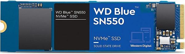 WD Blue WDBA3V0010BNC-WRSN SN550 1TB NVMe Solid State DriveWD Blue WDBA3V0010BNC-WRSN SN550 1TB NVMe Solid State Drive