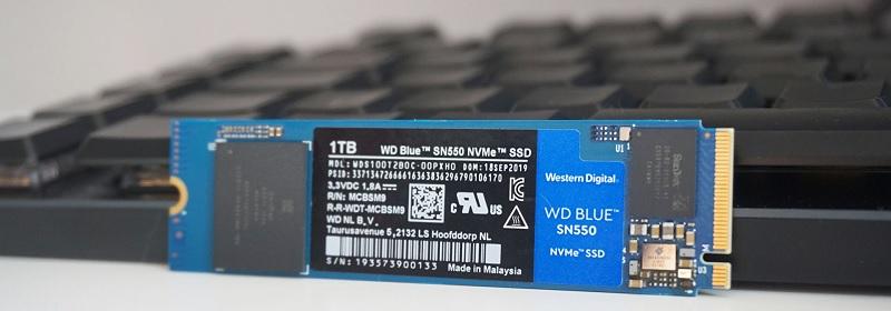 Western Digital Blue WDBA3V0010BNC-WRSN SN550 1TB SSD Review