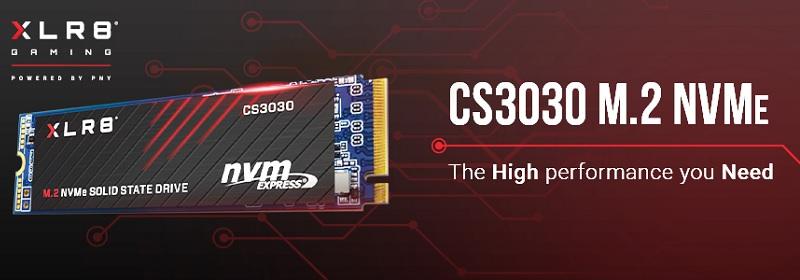PNY M280CS3030-250-RB CS3030 250GB PCI Express NVMe SSD